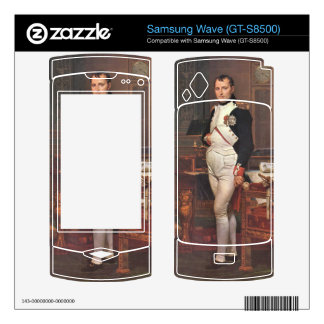 Jacques-Louis David - Portrait of Napoleon in his Skin For Samsung Wave