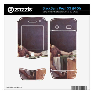 Jacques-Louis David - The murdered Marat BlackBerry Pearl Decal