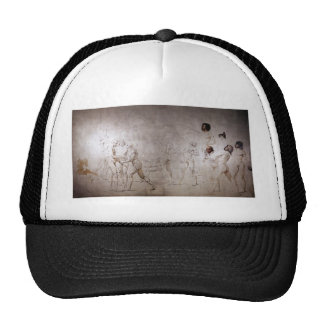 Jacques-Louis David- The Oath in the Tennis Court Trucker Hat