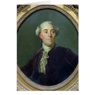 Jacques Necker c.1781 Tarjeta De Felicitación