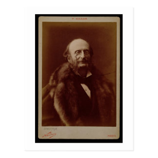 Jacques Offenbach (1819-80), compositor alemán, Tarjeta Postal