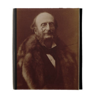 Jacques Offenbach (1819-80), German composer, port iPad Case