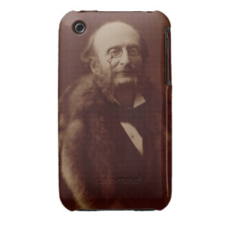 Jacques Offenbach (1819-80), German composer, port iPhone 3 Case-Mate Case
