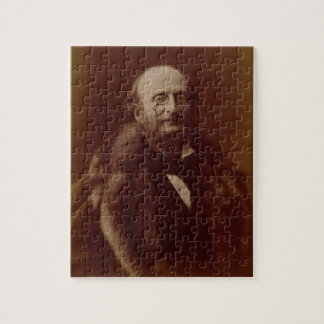 Jacques Offenbach (1819-80), German composer, port Jigsaw Puzzle