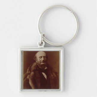 Jacques Offenbach (1819-80), German composer, port Key Chains