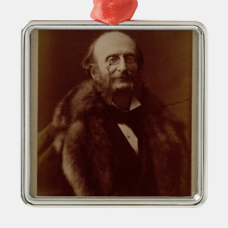 Jacques Offenbach (1819-80), German composer, port Metal Ornament