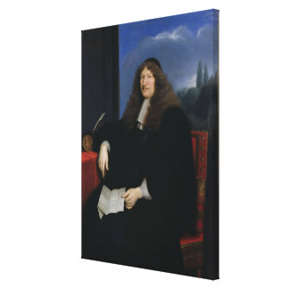 Jacques Tubeuf  President of the Chambre Canvas Print