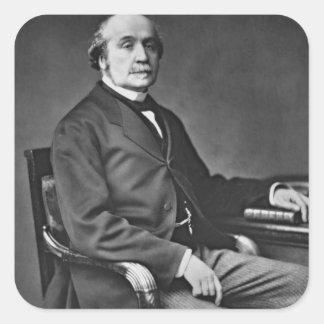 Jacques Victor Albert de Broglie (1821-1901), from Square Sticker