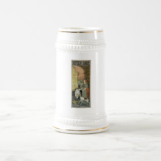 Jacques Zon January 1900 Netherlands Beer Stein