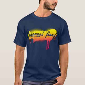 Jacuzzi Fiend Navy JapanTag T-Shirt