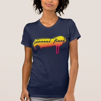 Jacuzzi Fiend Navy Tag T-Shirt