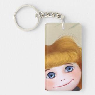 Jada Doll blue eyes Key Chain