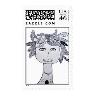 Jada Gaddy Postage Stamps
