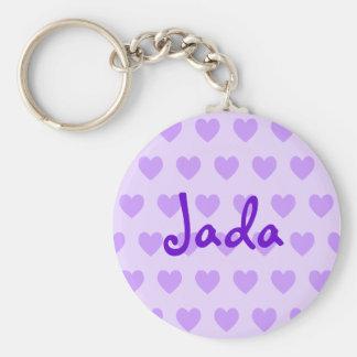 Jada in Purple Keychain