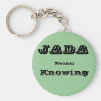 Jada Keychain