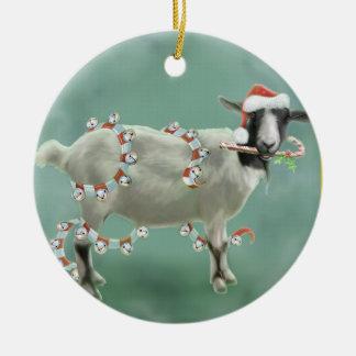 Jada la cabra, navidad ornamentos de reyes magos