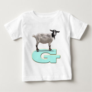 Jada says G is for goat. Baby T-Shirt