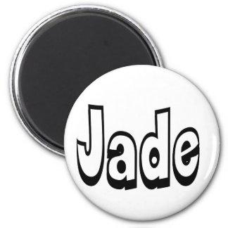 Jade 2 Inch Round Magnet