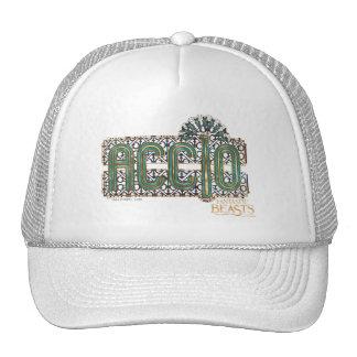Jade Art Deco Accio Spell Graphic Trucker Hat