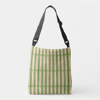 Jade Bamboo Mat Texture Look Tote Bag
