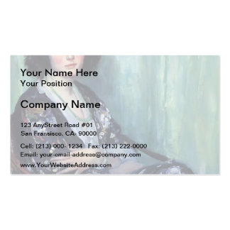 Jade Beads by Guy Rose Business Card