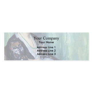 Jade Beads by Guy Rose Business Cards