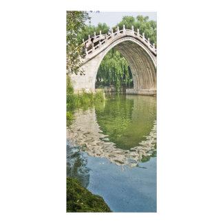 Jade Belt Bridge Custom Rack Card