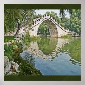 Jade Belt Bridge Poster