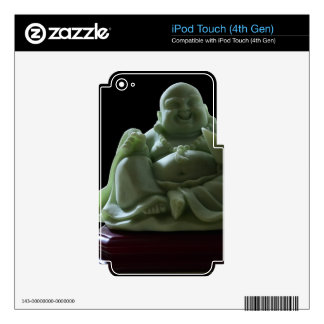 Jade Buddha Skin For iPod Touch 4G