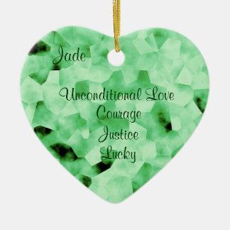 Jade Ceramic Ornament