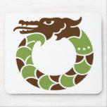 Jade Dragon Mousepad