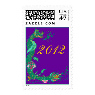 Jade Dragon Stamps 2012 Year of The Dragon