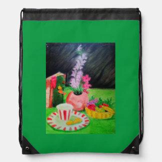 jade drawstring backpack