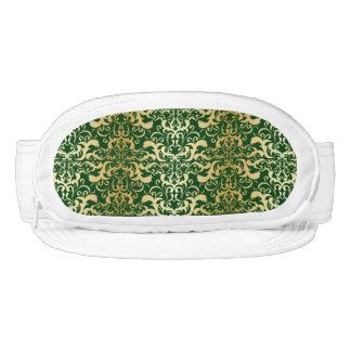 jade,faux gold,damasks,vintage,antique,pattern,chi visor