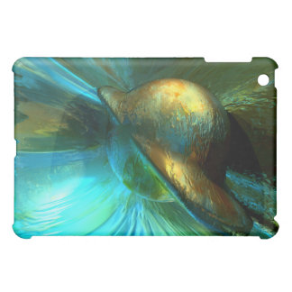 Jade Flower Abstract  Cover For The iPad Mini