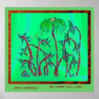 Jade Garden ver 2 Poster