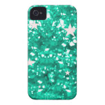 Jade glitter iphone 4 barely case iPhone 4 case