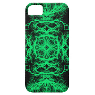 Jade Green and Black Elegant Pattern. iPhone SE/5/5s Case