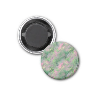 Jade Green Crystal Gel Pattern Magnet