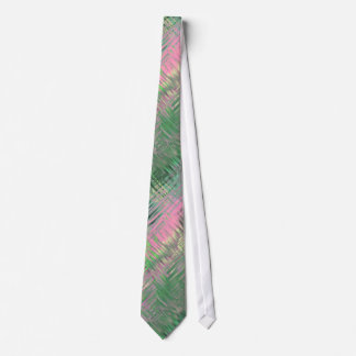 Jade Green Crystal Gel Pattern Neck Tie