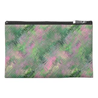 Jade Green Crystal Gel Pattern Travel Accessory Bag