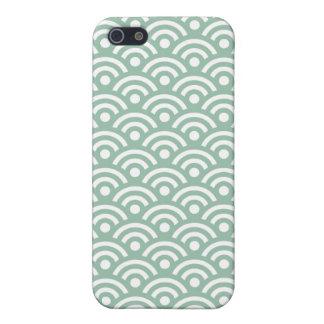 Jade Green Geometric iPhone 5 5S Case