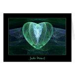 Jade Heart Card