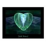 Jade Heart Postcard