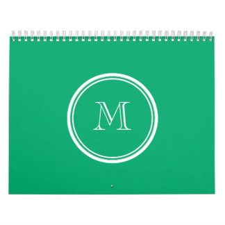 Jade High End Colored Personalized Calendar