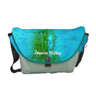 Jade Kwan Yin Courier Bags