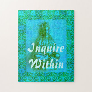 Jade Kwan Yin Jigsaw Puzzles