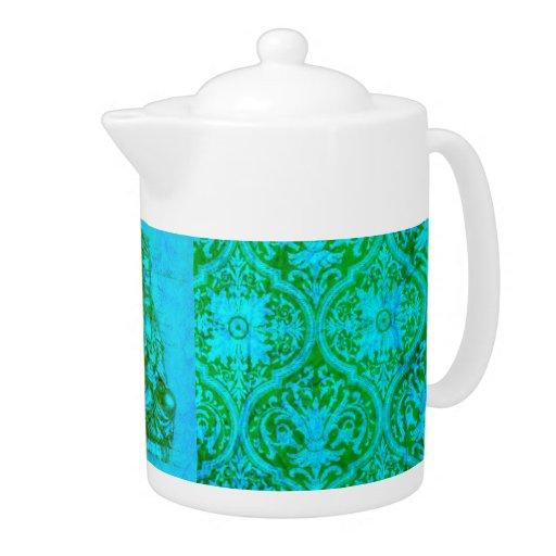 Jade Kwan Yin teapot