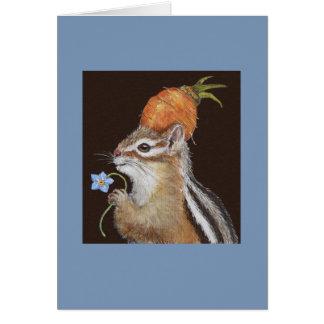 Jade la tarjeta del chipmunk