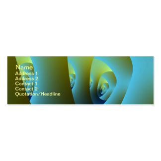 Jade Labyrinth Business Card Pack Of Skinny Business Cards